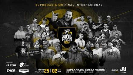 Supremacía MC Final Internacional 2019: Estas son las duplas que se enfrentarán