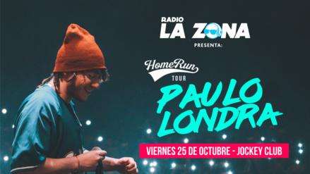 Paulo Londra regresa a Lima para un gran concierto en el Jockey Club