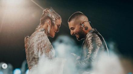 Maluma cantó 'No me ames' con Jennifer López