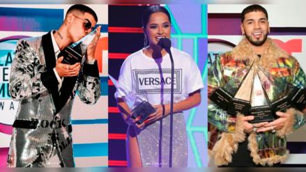 Conoce la lista de los artistas ganadores de los Latin AMAs 2019