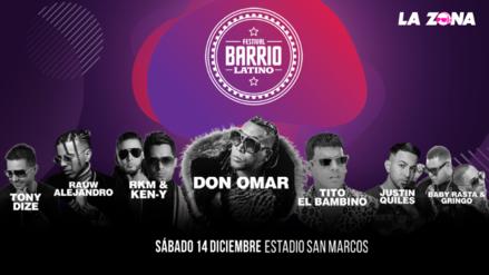¡Confirmado!  Barrio Latino 5 anuncia el cartel internacional completo del festival