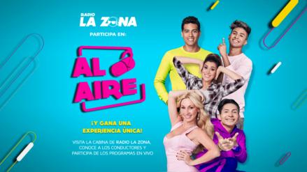 ¡Forma parte de tu programa favorito de Radio La Zona!