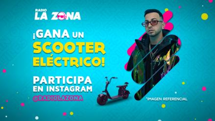 Justin Quiles y Radio La Zona te regalan un scooter eléctrico