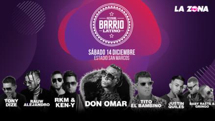Ya tenemos el horario oficial de los shows en Barrio Latino