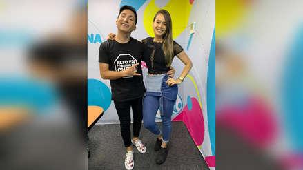 Suboficial Jossmery Toledo visitó Radio La Zona y se pronunció sobre la polémica por su video en Tik Tok