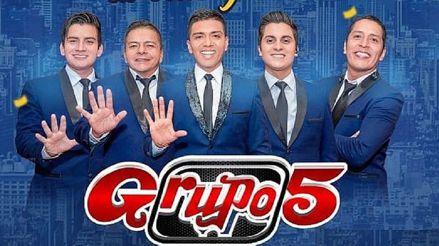Grupo 5 brindará concierto en vivo online