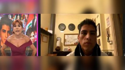 John Kelvin señala que Magaly Medina es irresponsable por seguir con programa en vivo