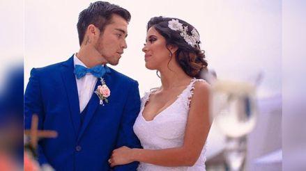 Melissa Paredes confiesa que su esposo  'Gato' Cuba se quedó sin trabajo en México y espera un vuelo humanitario