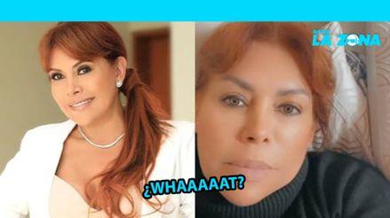 Janet Barboza señala que Magaly Medina tiene coronavirus y luego elimina publicación [FOTO]