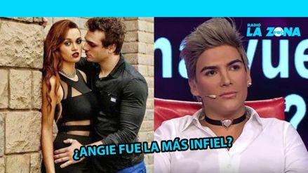 """Zorro Zupe confirmó que Angie Arizaga fue infiel: """"Nicola fue el más cornudo de Rusia 2018″ [FOTO]"""