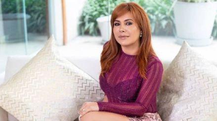 """Magaly Medina no saldrá al aire: """"Estuve con mucho estrés y el médico me ha pedido que descanse"""""""