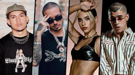"""J Balvin, Dua Lipa, Bad Bunny y Tainy lanzaron su nuevo sencillo """"Un día (one day)"""" [VIDEO]"""