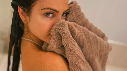 Natti Natasha sin ropa y saliendo de la ducha remeció Instagram [FOTO]
