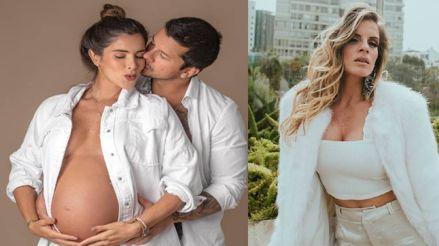 Korina Rivadeneira confesó que su hija nacerá a fines de setiembre y no en el cumpleaños de Alejandra Baigorria [FOTO]