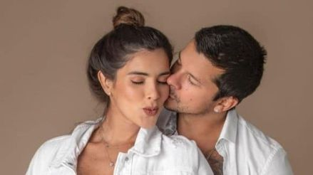 Korina Rivadeneira y Mario Hart presentaron las primeras imágenes de su hija Lara [FOTOS]