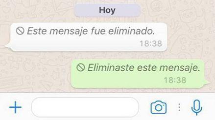 WhatsApp: Este es el truco para recuperar los mensajes eliminados [TUTORIAL]