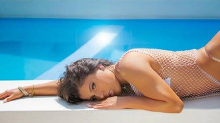 La fotografía de Yahaira Plasencia en la piscina que remeció Instagram [FOTO]