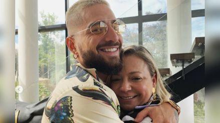 El emotivo reencuentro de Maluma con su madre, luego de cinco meses sin verse [VIDEO]