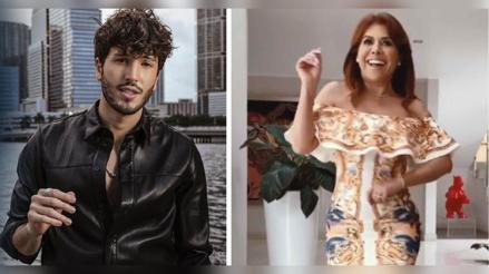 """Sebastián Yatra reaccionó al 'challenge' de Magaly Medina: """"Sabe apreciar mi baile, no como ustedes"""" [VIDEO]"""