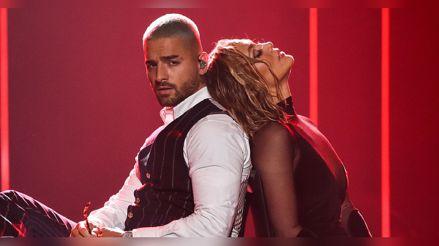 El sexy show de Jennifer Lopez y Maluma en los 'American Music Awards 2020' [VIDEO]