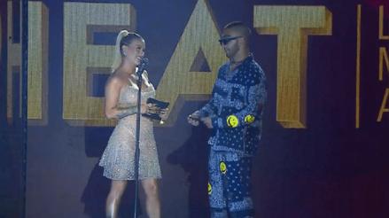 Leslie Shaw superó a Tini Stoessel y Mon Laferte en Premios Heat 2020