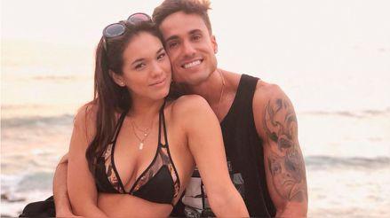 Jazmín Pinedo y Gino Assereto son captados juntos en la playa [VIDEO]
