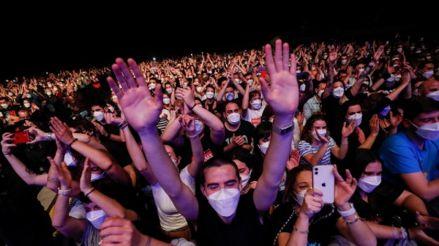 El primer concierto que reunió a 5 mil personas no presentó contagios por Covid-19