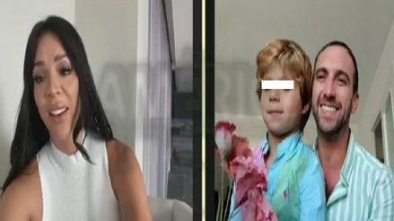 """Sheyla Rojas sobre dejar a su hijo con Antonio Pavón: """"A veces uno se ahoga en un vaso de agua"""" [VIDEO]"""
