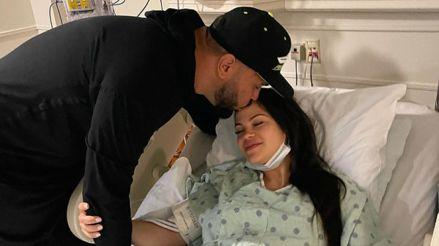 Raphy Pina publicó cómo pasaron las noches en la clínica con Natti Natasha y su hija recién nacida [FOTO]