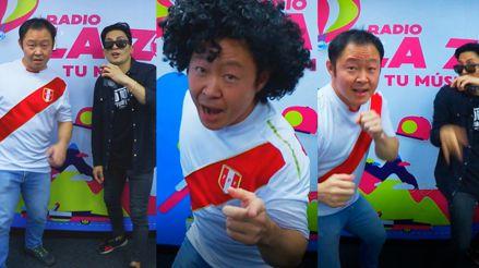 """[VIDEO] Kenji Fujimori y Paul Marchena bailaron el """"Tampoco Tampoco Remix"""" en Radio La Zona"""