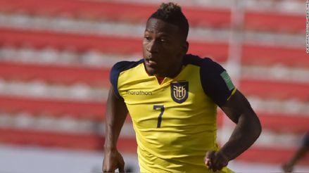 El jugador de Ecuador, Pervis Estupiñán, se pronunció sobre el empate con Perú: