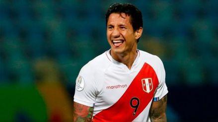 Gianluca Lapadula fue uno de los mejores jugadores de la Copa América 2021
