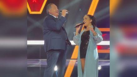 Daniela Darcourt cantó en vivo junto a Tito Nieves: