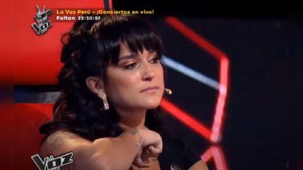 Daniela Darcourt lloró al recodar a su abuelo [VIDEO]