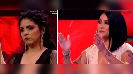 """Daniela Darcourt criticó a Oriana: """"Merecemos respeto.  Lo que pasa en el escenario, se resuelve en el escenario"""" [VIDEO]"""