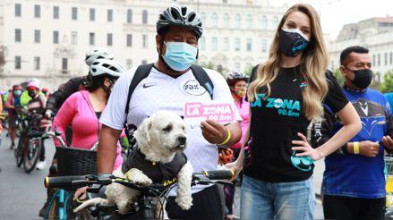Con bicicleteada de 30 km de recorrido y actividades gratuitas se celebró sexto aniversario de Al Damero De Pizarro Sin Carro