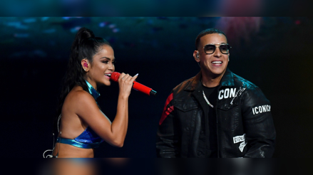 """Daddy Yankee y Natti Natasha cantaron el remix de """"Dura"""" en vivo [VIDEO]"""