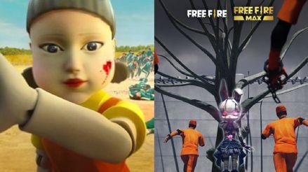 """Garena Free Fire: """"El Juego del Calamar"""" llega al popular videojuego"""