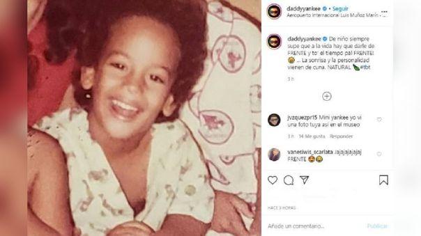 Daddy Yankee publicó una imagen de su infancia y enterneció a todos
