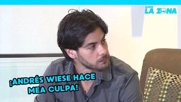 """Andrés Wiese hace un mea culpa tras acusaciones de acoso: """"Cometí un error"""" [VIDEO]"""
