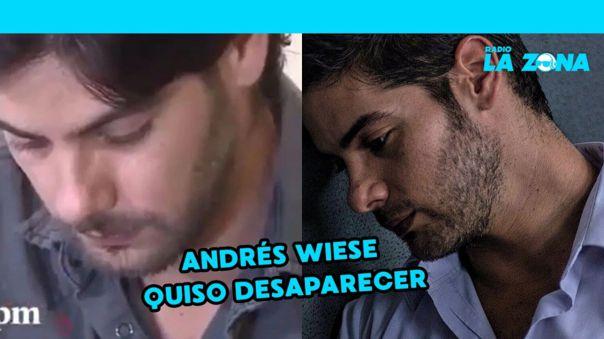 Andrés Wiese se quebró al recordar los comentarios que lo tildaban de pedófilo [VIDEO]