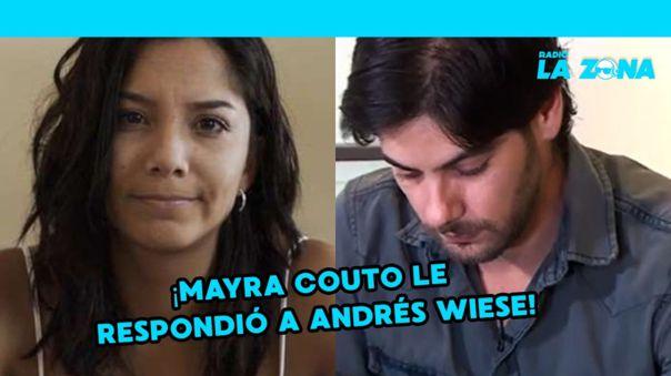 "Mayra Cuoto a Andrés Wiese: ""No me gusta Andrés Wiese, me gustan los hombres, inteligentes, estudiosos, humildes"""