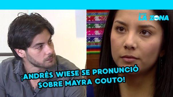 Andrés Wiese sobre acusación de Mayra Couto: