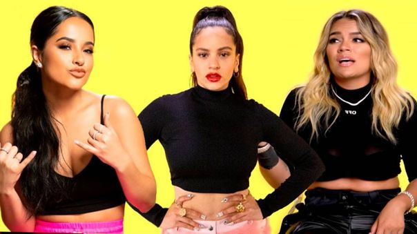 Así se escucha Rosalía, Becky G y Karol G sin autotune [VIDEO]