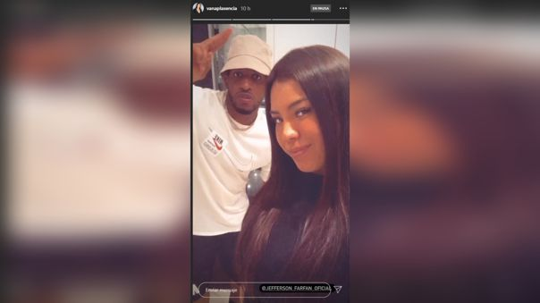 Silvana Plasencia publicó en su Instagram una foto junto a Jefferson Farfán.