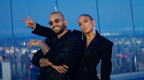 """Jennifer Lopez y Maluma lanzan dos nuevas canciones """"PA TI"""" & """"LONELY"""" [VIDEO]"""
