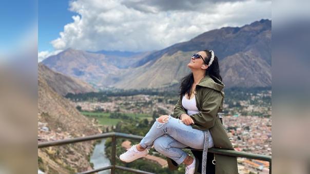 """Daniela Darcourt cantará en reapertura de Machu Picchu: """"Que bonito estar aquí"""""""