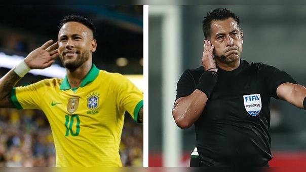 """Asociación de abogados demandó a Neymar Jr. y a Julio Bascuñán por """"falsedad genérica"""" en el partido Perú vs Brasil"""