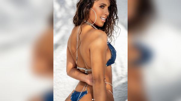 El baile en bikini de Yahaira Plasencia desde Punta Cana [VIDEO]