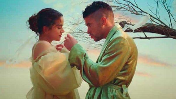 """Rosalía y Bad Bunny estrenaron el video de """"La noche de anoche"""" y arrasan en Youtube [VIDEO]"""